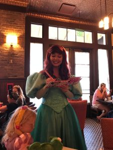 Ariel at Bon Voyage Adventure Breakfast