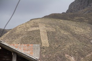Cross on the Hill in Chivay