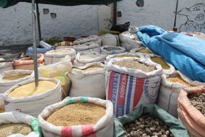 Grains and other Staples in Chivay Market