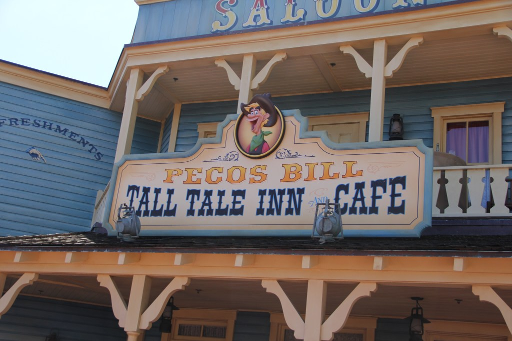 Front of Pecos Bill