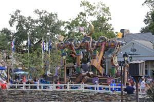 Rapunzel Float in Festival of Fantasy Parade