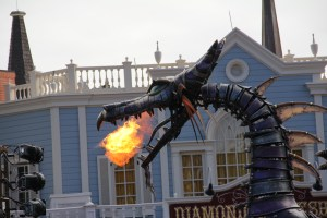 Maleficent Dragon Fire