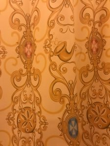 Shower Curtain in Royal Guest Room 2