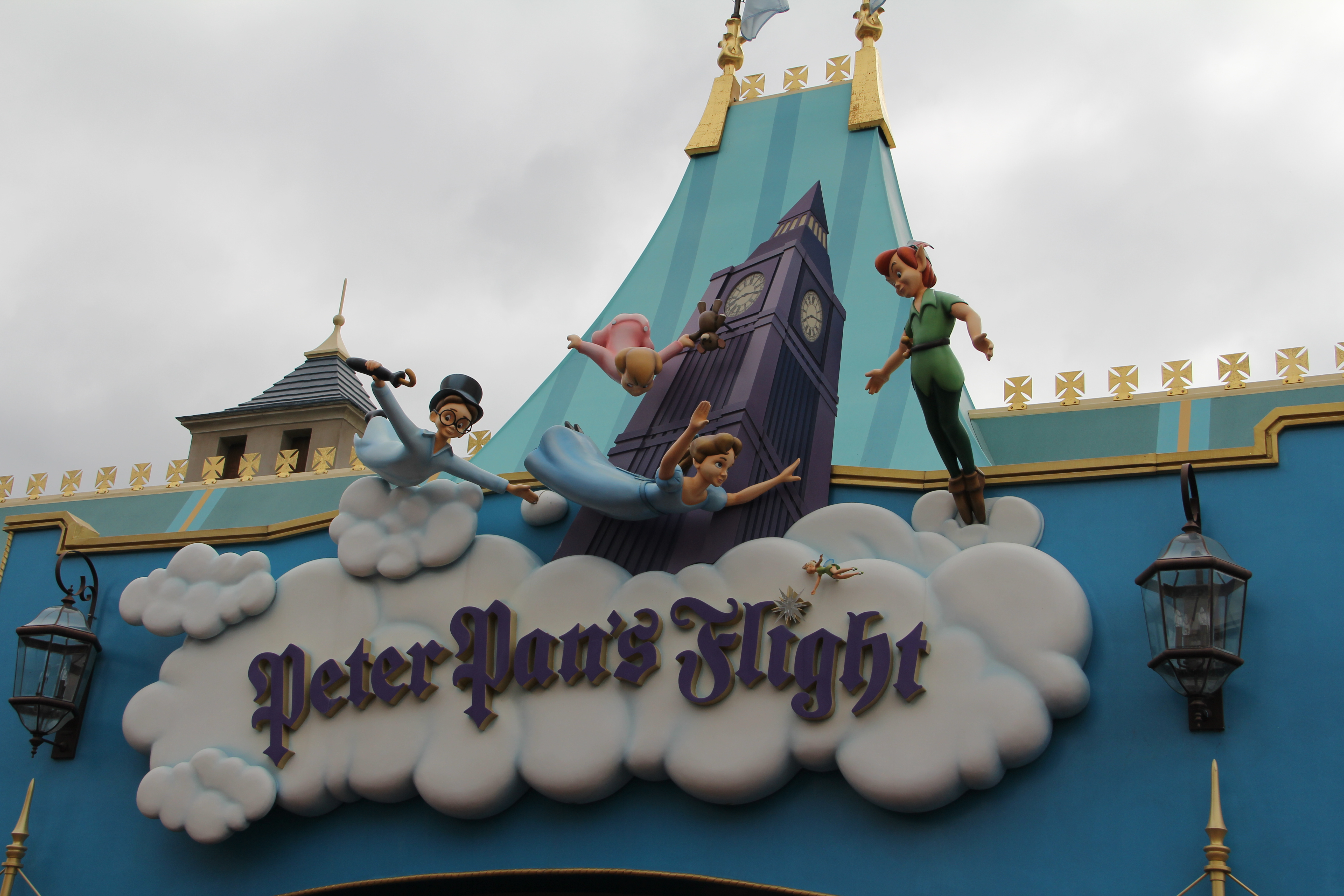 Peter Pan Flight Sign