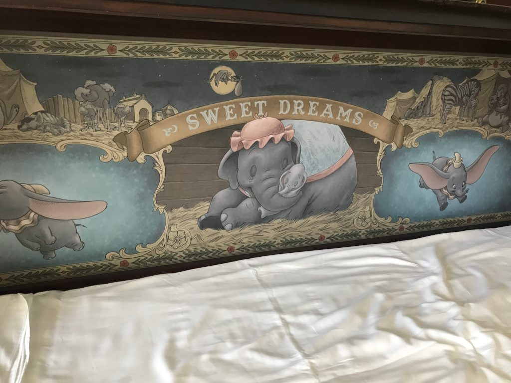Dumbo pull out bed in Grand Floridian DVC Studio Villa