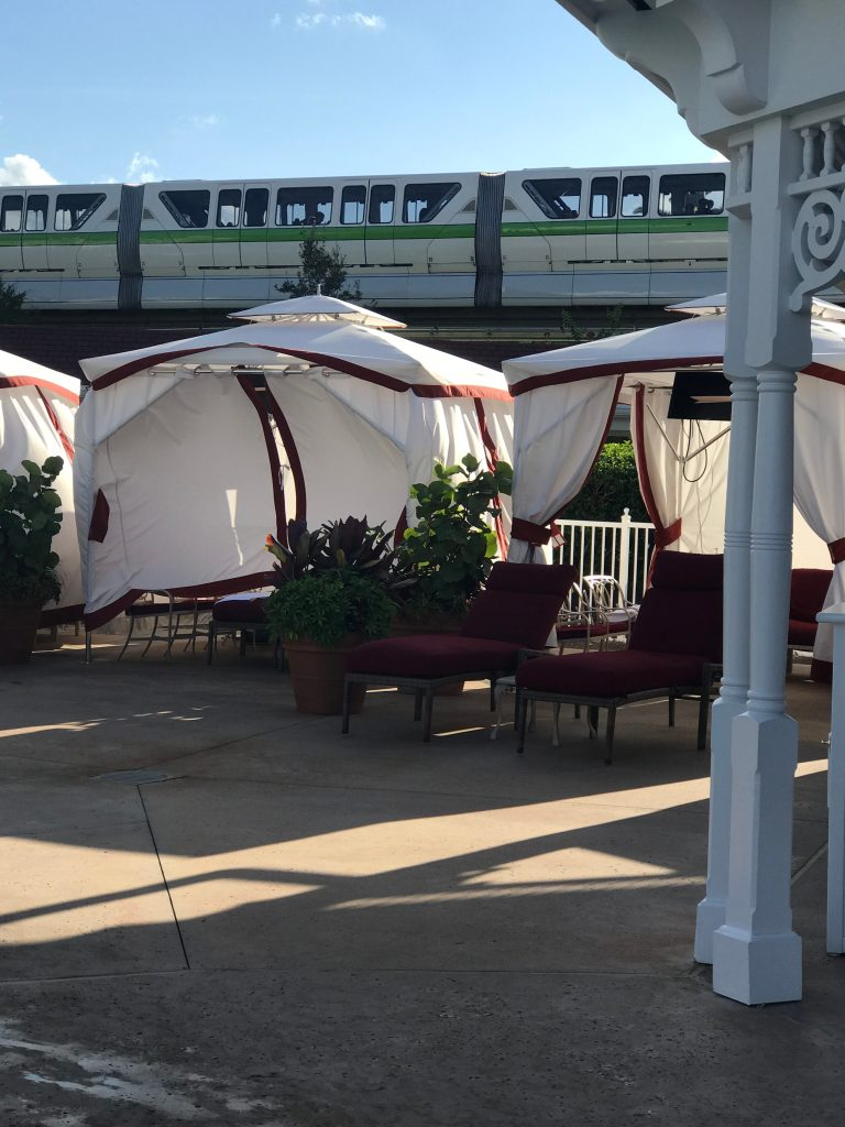 Cabanas at Grand Floridian Pool