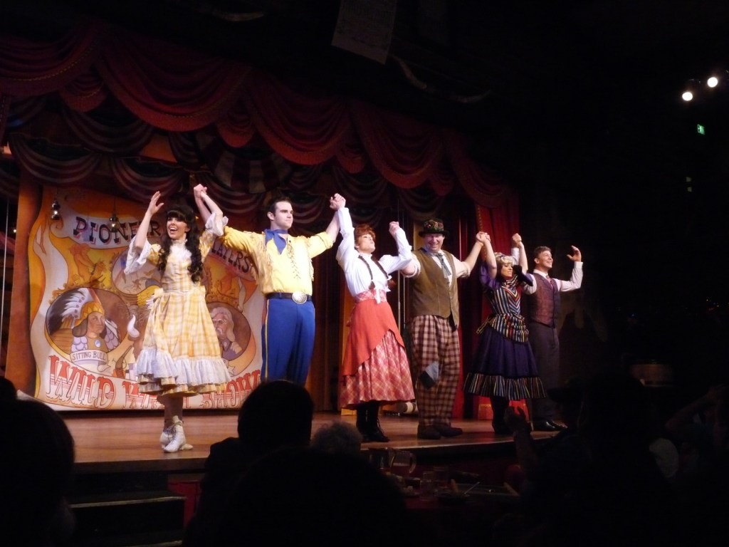 Hoop Dee Doo Revue at Fort Wilderness.