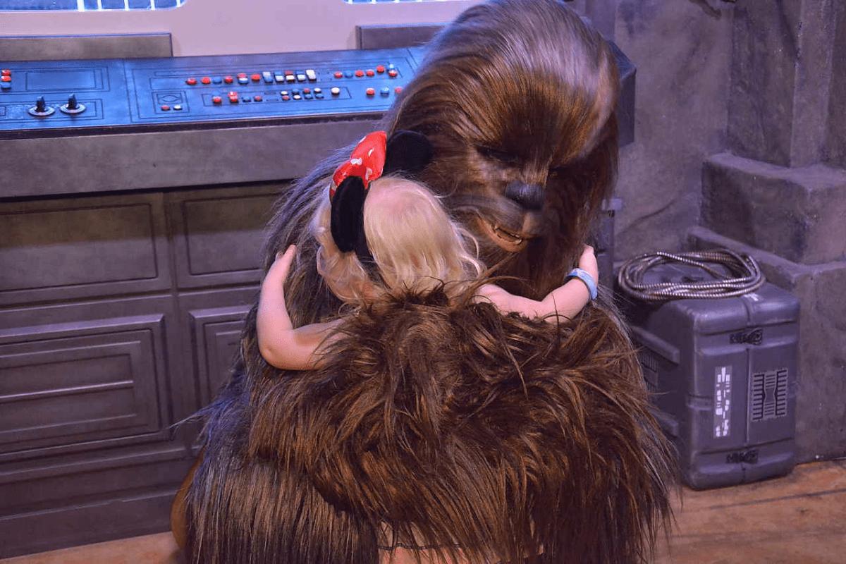 Chewbacca at Hollywood Studios