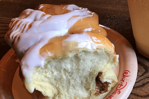 Cinnamon Roll from Gaston's Tavern