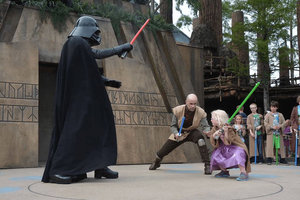 Darth Vader Jedi Training Hollywood Studios