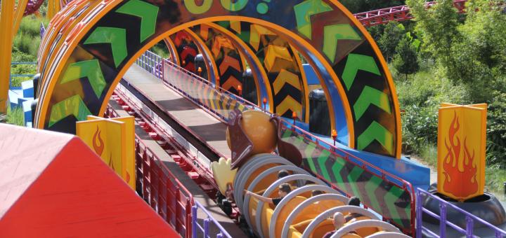 Slinky Dog Dash Go Sign