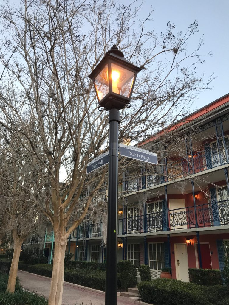 Rue D'Baga in Port Orleans French Quarter