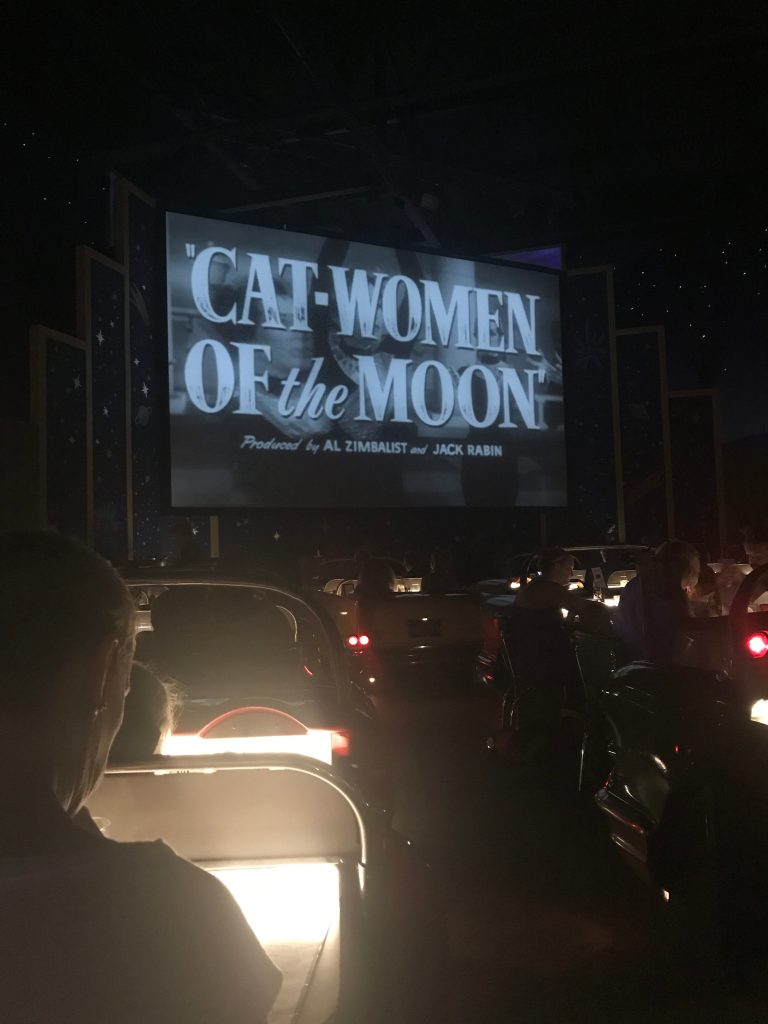 Cat Women of the Moon Sci-Fi Dine In Theatre