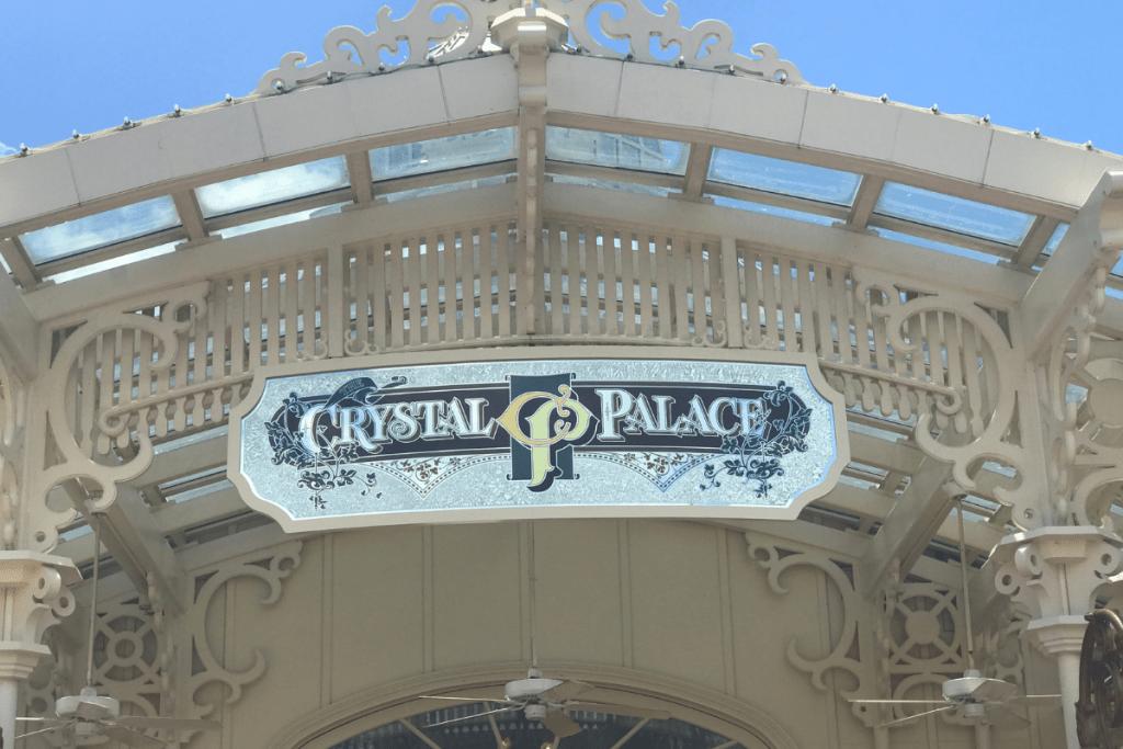 Crystal Palace Sign