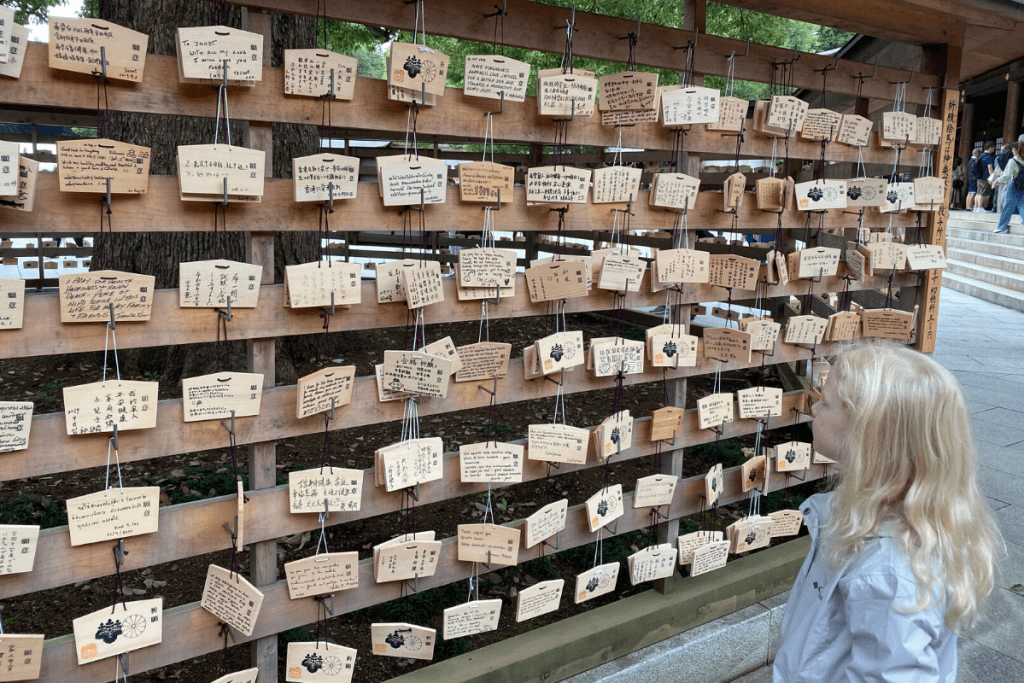 Meiji Jingu Ema Wish  Boards