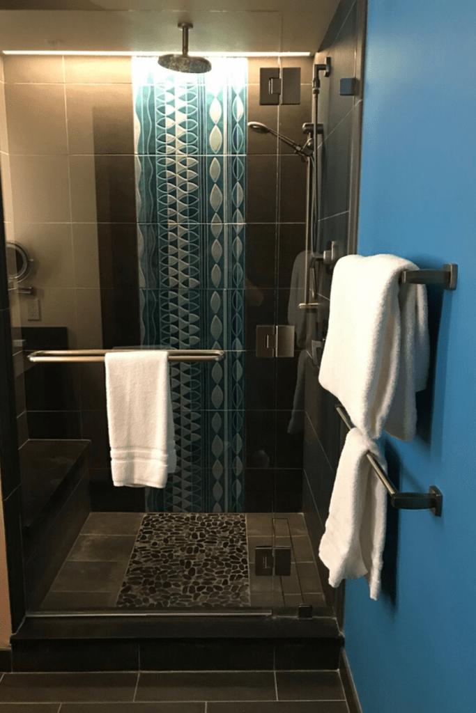 Deluxe Studio Polynesian Resort Walk In Shower