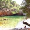 lagoa em Lokrum