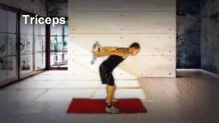 Patadas traseras para triceps
