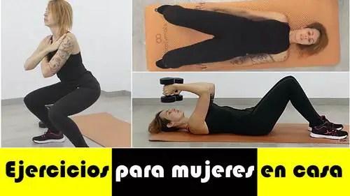Los mejores ejercicios para mujeres en casa en 12 minutos