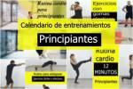 Calendario de entrenamientos para principiantes parte 1