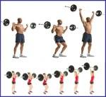 Push Jerk: ejercicio de Crossfit que te hará mejorar tu núcleo muscular