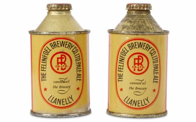 Felinfoel pale Ale, primera cerveza enlatada en Europa