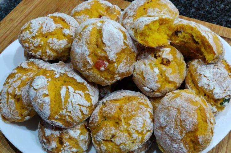 Receita de Broinhas de Batata Doce | Muito Fofinhas!
