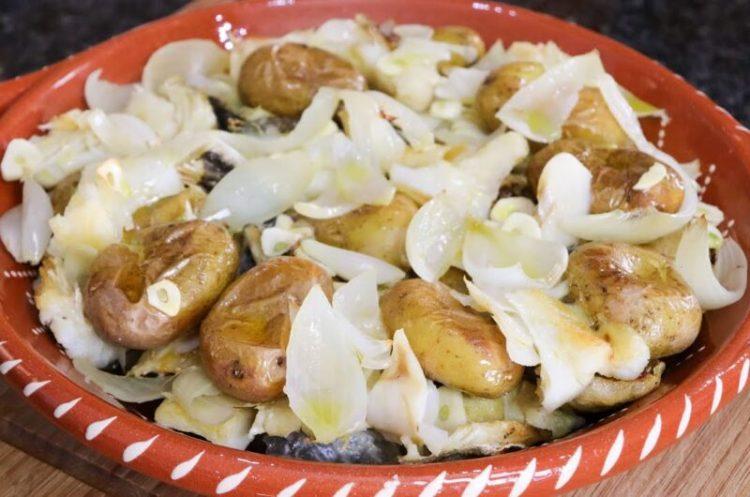 Bacalhau à Lagareiro com Batatas a Murro