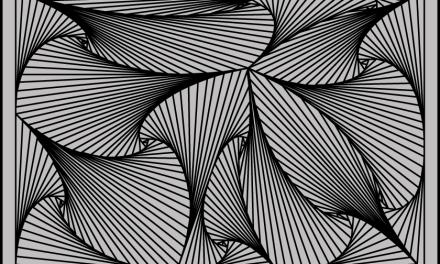 Structured Doodle – The Pursuit Curve