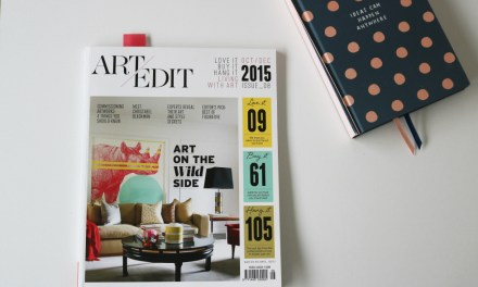Living With Art (Art Edit Magazine)