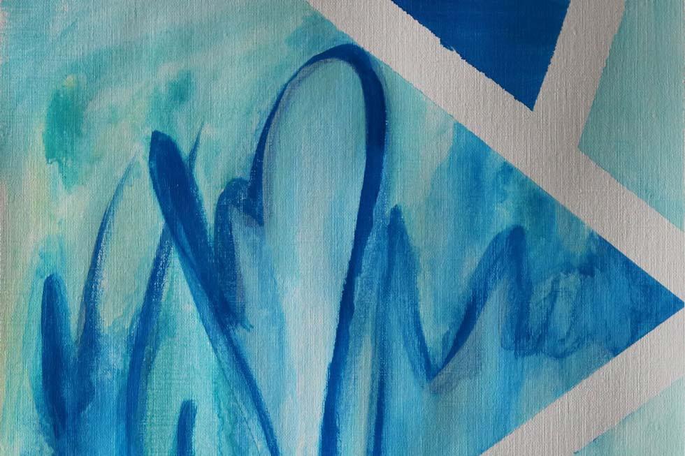Abstract Art Organic Shapes