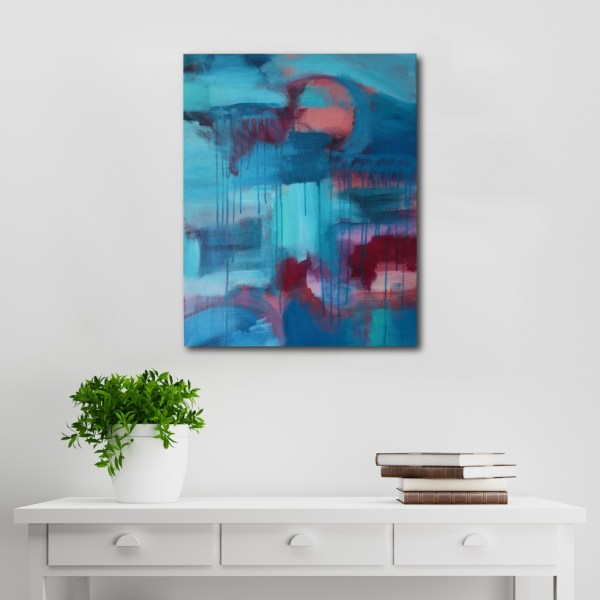 Abstract Acrylic Canvas Art - Colour Fields by Charlie Albright | Moments by Charlie | Creative Abstract Artist, Photographer and Blogger | Made in Adelaide, Australia