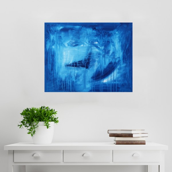 Abstract Acrylic Canvas Art - In The Night Sky by Charlie Albright | Moments by Charlie | Creative Abstract Artist, Photographer and Blogger | Made in Adelaide, Australia