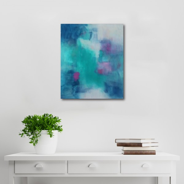 Abstract Acrylic Canvas Art - Isabella by Charlie Albright | Moments by Charlie | Creative Abstract Artist, Photographer and Blogger | Made in Adelaide, Australia