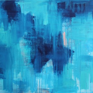 Abstract Acrylic Canvas Art - One Day In Summer by Charlie Albright | Moments by Charlie | Creative Abstract Artist, Photographer and Blogger | Made in Adelaide, Australia
