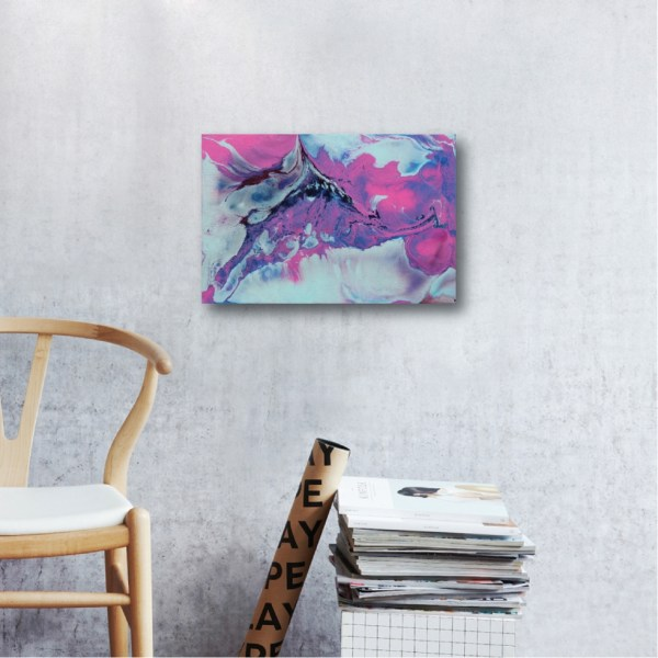 Abstract Acrylic Canvas Art - Sweet Whispers by Charlie Albright | Moments by Charlie | Creative Abstract Artist, Photographer and Blogger | Made in Adelaide, Australia