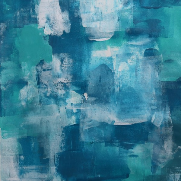 Abstract Acrylic Art On Paper - She Called Herself Rosemary by Charlie Albright | Moments by Charlie | Creative Abstract Artist, Photographer and Blogger | Made in Adelaide, Australia