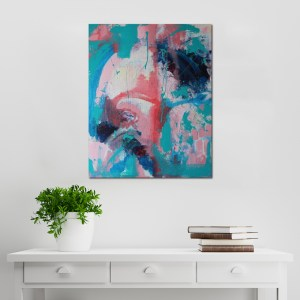 Abstract Acrylic Canvas Art - Despair, The Hidden Hope - Movement Collection by artist Charlie Albright | Moments by Charlie | Creative Visual Artist, Photographer and Blogger | Made in Adelaide, Australia