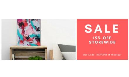 Online Shop Sale 15% Off + Free Shipping Worldwide