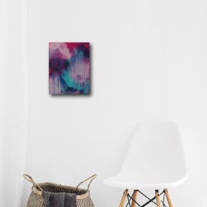 Abstract Art Titled Mastery By Creative Visual Artist Charlie Albright   SALA 2018 Collection - Chasing Dancing Colours   Moments by Charlie Online Shop   Adelaide, South Australia
