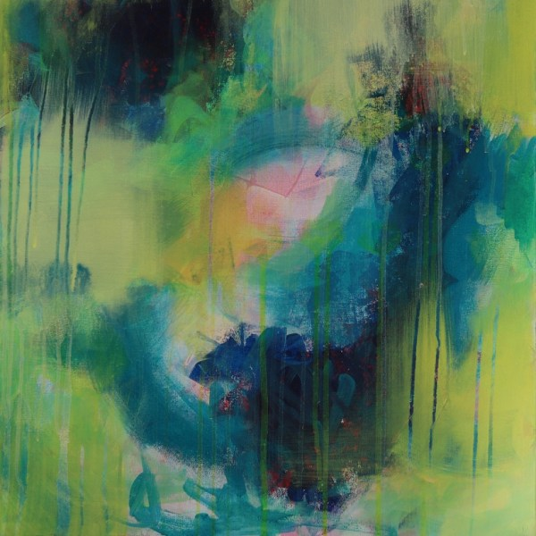 Abstract Art Titled Pursue It With Passion By Creative Visual Artist Charlie Albright   SALA 2018 Collection - Chasing Dancing Colours   Moments by Charlie Online Shop   Adelaide, South Australia