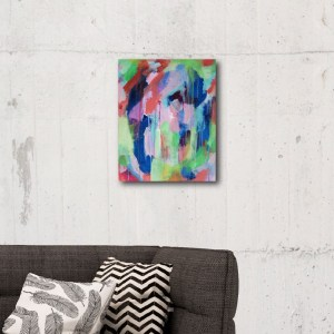 Abstract Canvas Art Titled On The Path By Creative Visual Artist Charlie Albright | Glenside Art Show 2018 - Mini Exhibition - Where There's A Will, There's A Way | Moments by Charlie Online Shop | Adelaide, South Australia