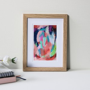 """Framed Art Print Titled On The Way There By Creative Visual Artist Charlie Albright 