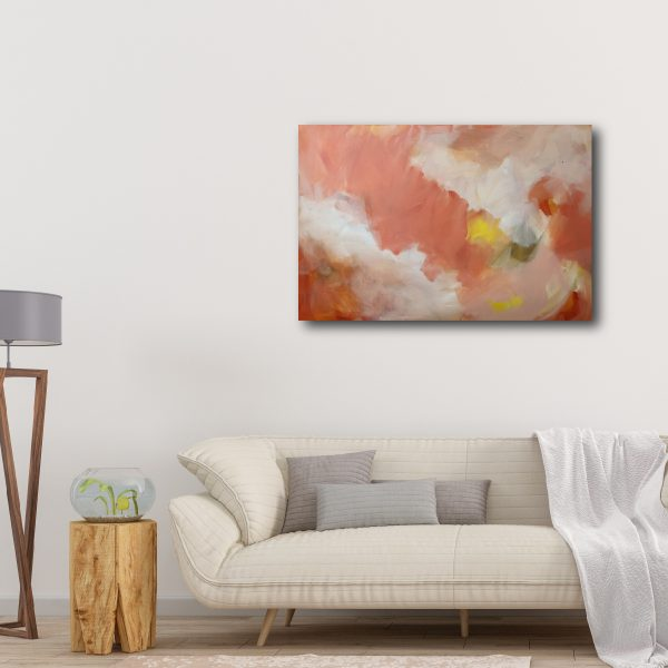 Abstract Canvas Art Titled There Is Always Hope By Creative Visual Artist Charlie Albright | Moments by Charlie Blog - Online Shop - Creative Freelance Services | Adelaide, South Australia