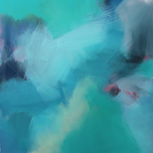 """Abstract Canvas Art Titled Is She Another Isabella? By Adelaide Abstract Artist Charlie Albright 