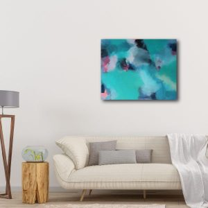 "Abstract Canvas Art Titled Is She Another Isabella? By Adelaide Abstract Artist Charlie Albright | Canvas Size 24"" x 30"" 