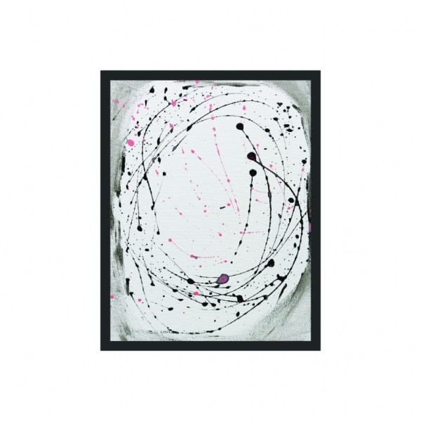 Set of 2 - Minimalism Abstract Framed Art Titled Pink & Grey Flow By Creative Visual Artist Charlie Albright | Moments by Charlie Blog - Online Shop - Creative Freelance Services | Adelaide, South Australia