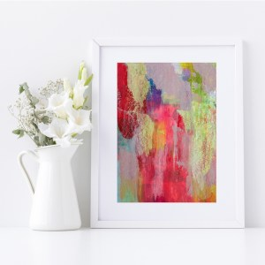 Abstract Fine Art Giclee Print Titled Earthy Soul 1 in Size A4 | By Adelaide Abstract Artist Charlie Albright | Moments by Charlie Blog - Online Shop - Creative Freelance Services | Adelaide, South Australia
