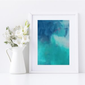 Abstract Fine Art Giclee Print Titled Summer Isabella's Son 1 in Size A4 | By Adelaide Abstract Artist Charlie Albright | Moments by Charlie Blog - Online Shop - Creative Freelance Services | Adelaide, South Australia