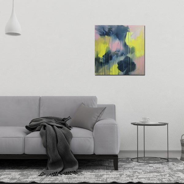 "Abstract Canvas Art Titled Shadows In The Light By Adelaide Abstract Artist Charlie Albright | Each Canvas Size 24"" x 24"" 
